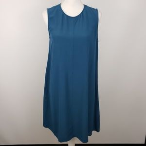 Eileen Fisher shift swing dress sleeveless small